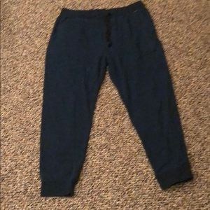 Blue Hurley Joggers size large